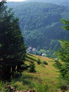 Bielice – górna część wsi